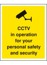 CCTV in Operation for Personal Safety and Security