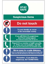 Stay Safe - Terrorism Action Notice