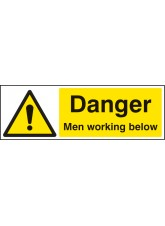 Danger Men Working Below