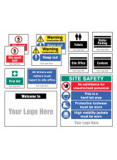 Site Saver Construction Kit (Pack of 12) with Optional Branding