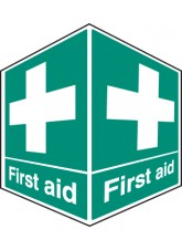 First Aid - Projecting Sign