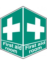 First Aid Room - Projecting Sign