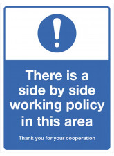 Side by Side Working Policy in this Area